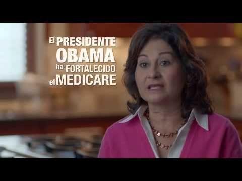 """""""Presidente Obama Luchando por Nuestro Futuro"""" from SEIU COPE supports Obama. 10/23/12"""