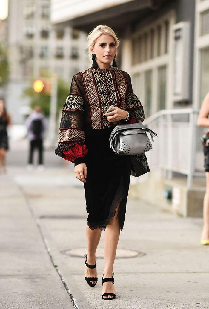 1001 id es quelle tenue styl e choisir et comment le porter mode femme pinterest tenue. Black Bedroom Furniture Sets. Home Design Ideas
