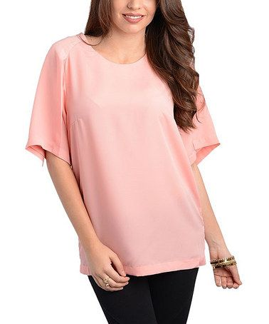 Loving this Pink Swing Top - Women on #zulily! #zulilyfinds