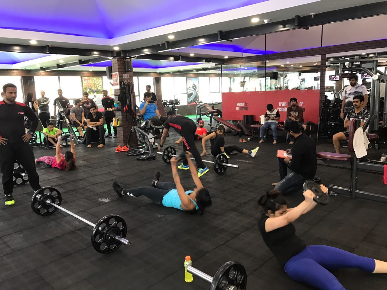 Your Body Is A Reflection Of What You Are If You Want To Look Healthy You Will Have To Be Healthy Rushfit Holistic Fitness Workout Challenge Fitness Regime