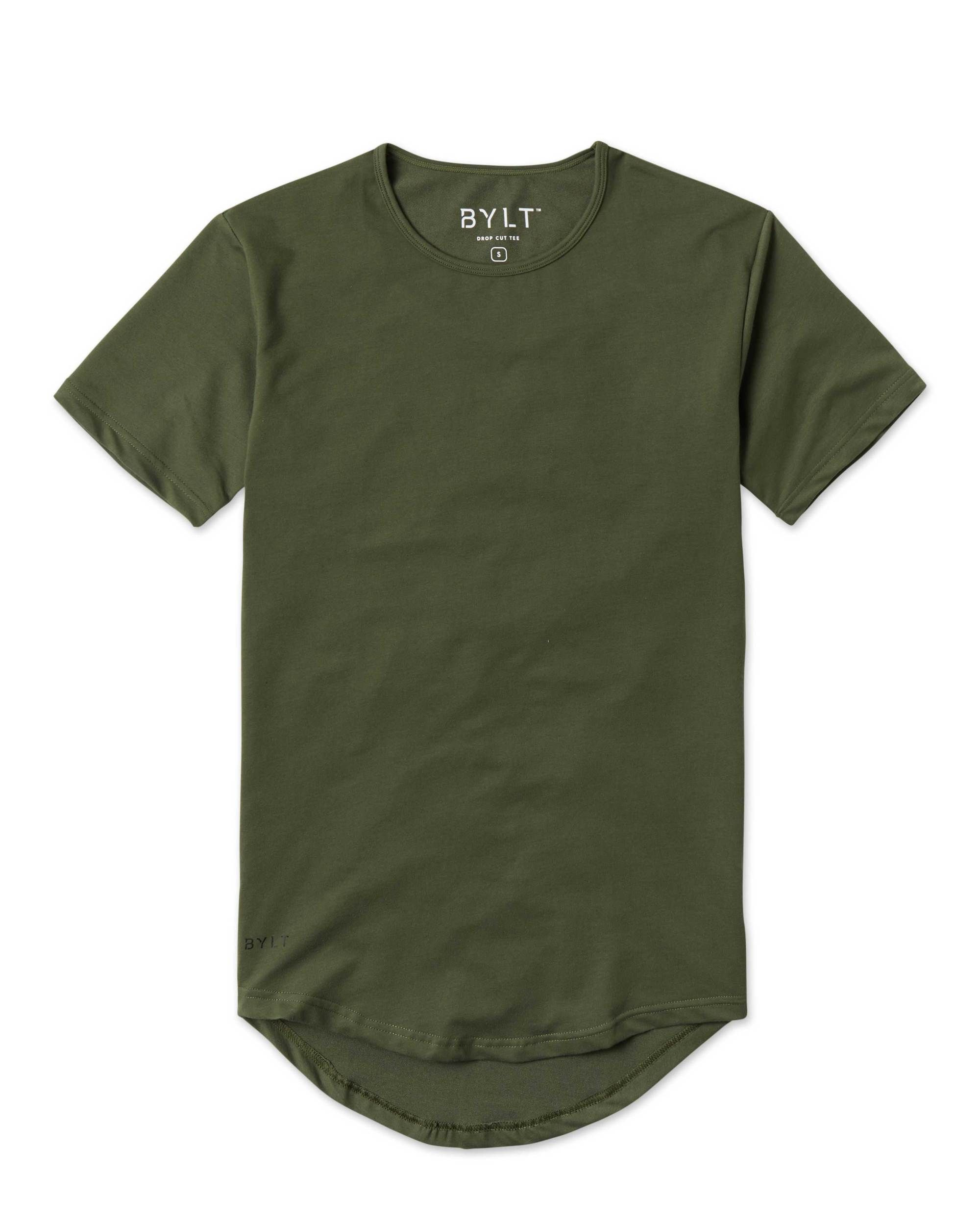 76ca6f92 Men's Drop-Cut T-Shirts by BYLT Basics were elegantly designed to be worn