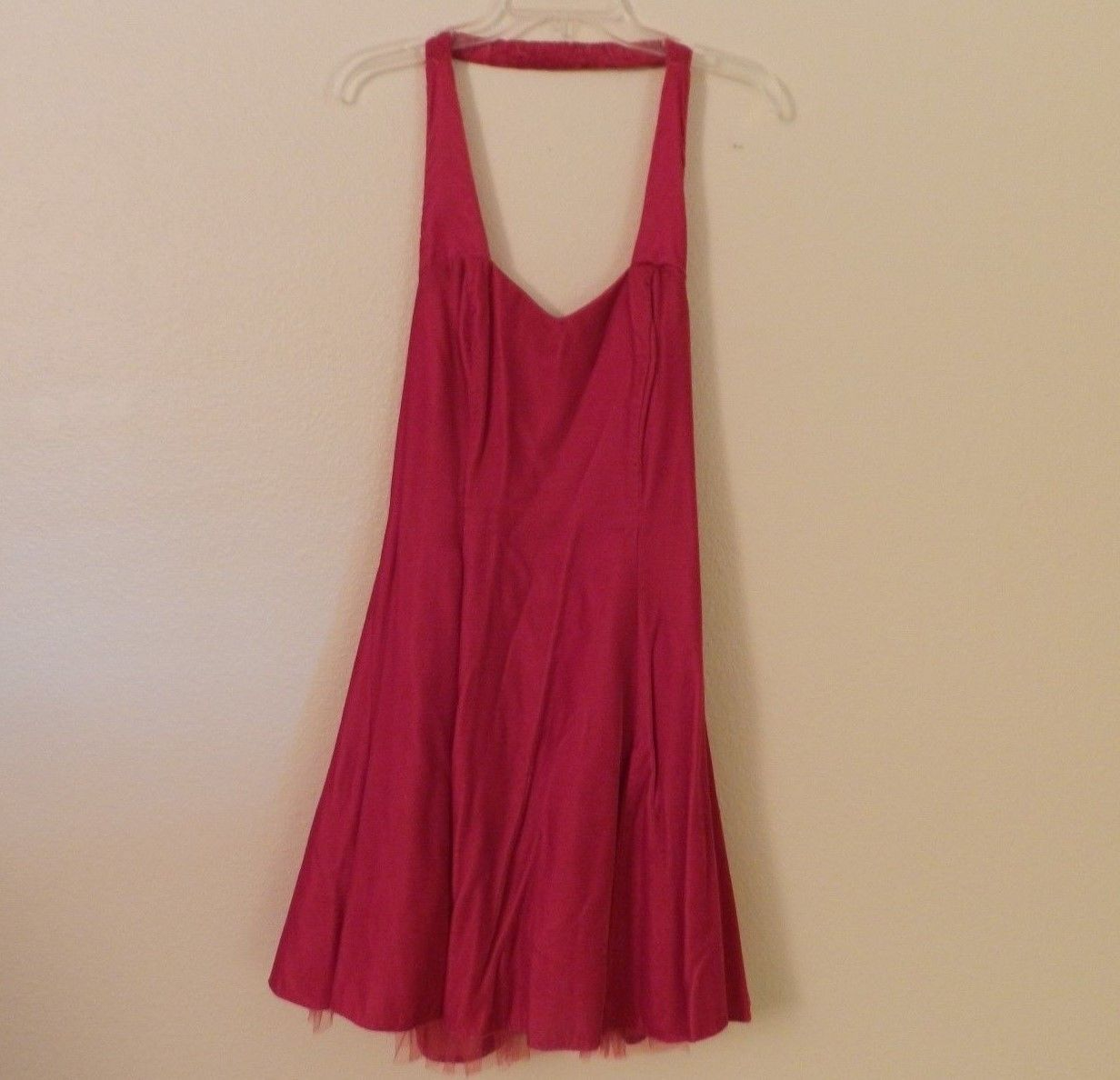 Nice awesome steppinu out red velvet prom dress halter top with
