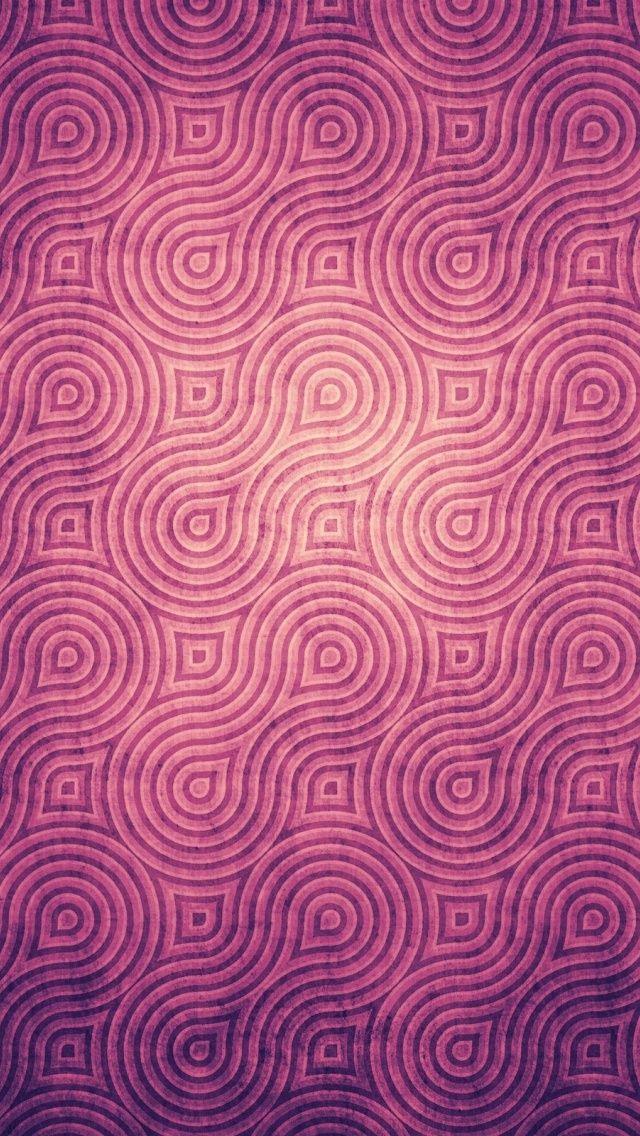 Wallpaper Backgrounds Vintage Purple Pattern Wallpapers 34518 640x1136