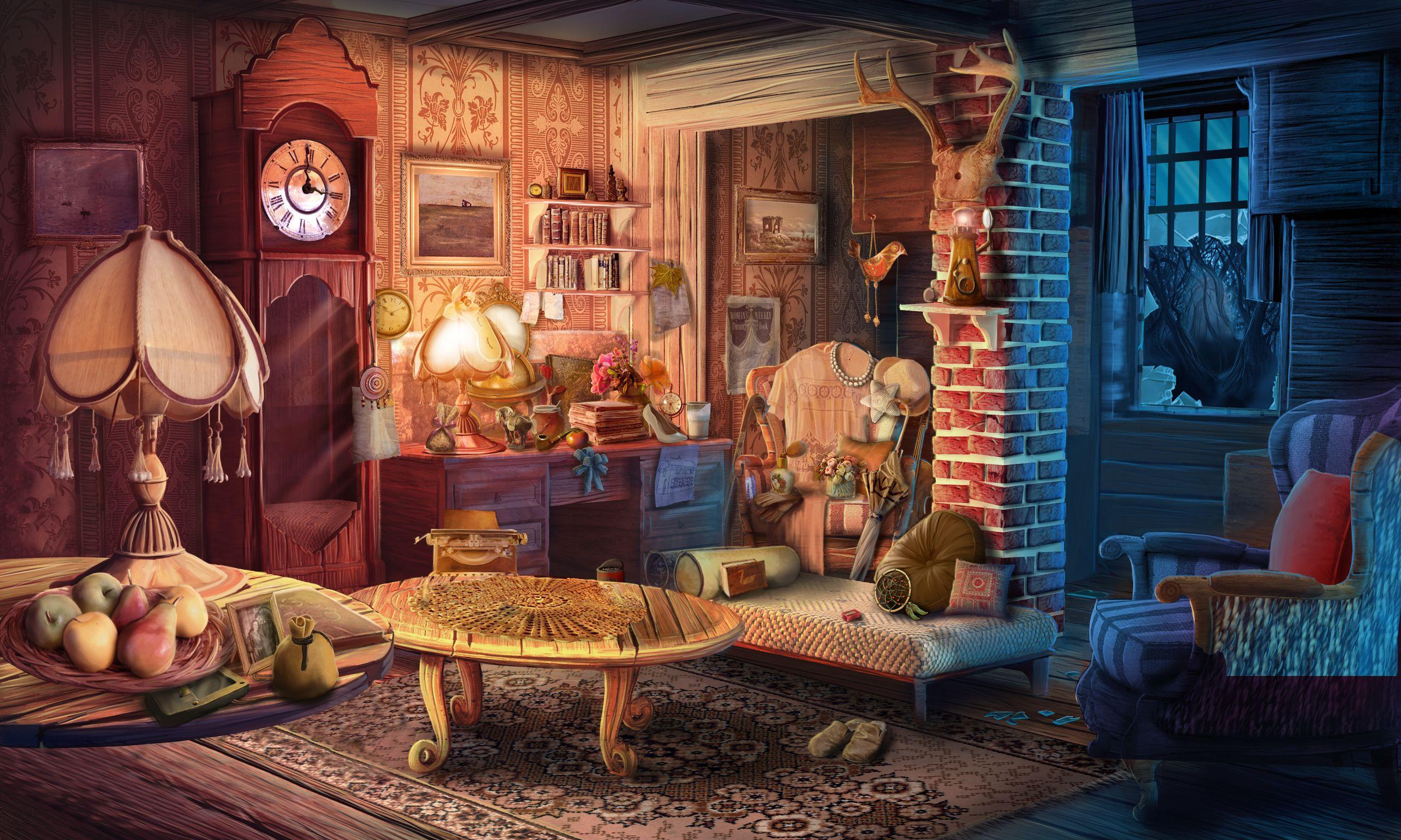 #art #gameart #gaming #gamedev #gamedevelopmentart #game #livingroom #room #furniture #vintage