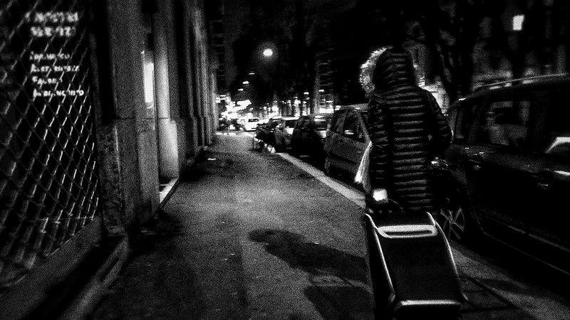 faire du shopping dans la nuit