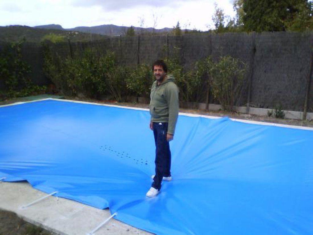 Lona Para Cubrir La Piscina Com Imagens Piscina Casas Jardim