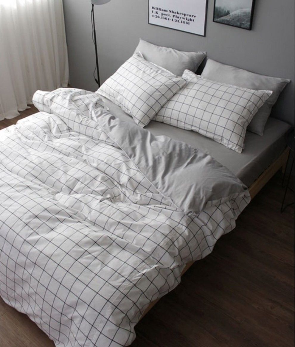 An Understated Cotton Duvet Set You Should Just Grid Your Teeth And Buy Because It Ll Look So Chic In 2020 With Images Duvet Sets Best Duvet Covers Duvet Bedding