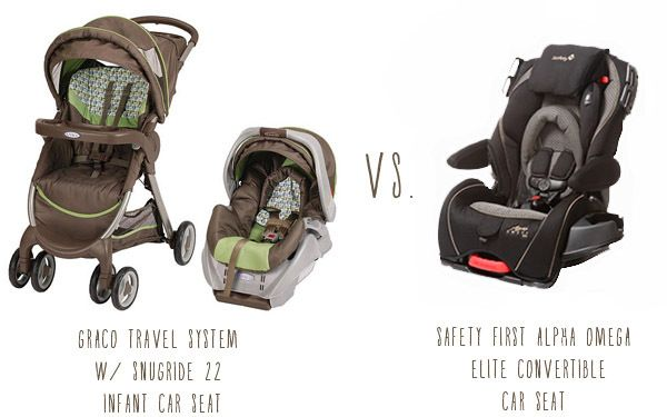 Infant Vs Convertible Carseat Strongly Inclined Towards A Since Ill Be Babywearing All The Time But It Looks So BIG For An Eensy Newborn
