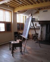 painting studio lighting. Rembrandt Studio Painting Lighting