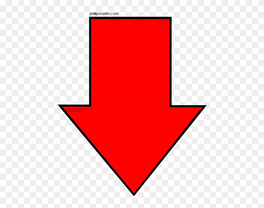 Red Arrow Pointing Down Png Arrow Pointing Down Red Arrow Free Arrow Clipart