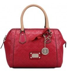 Soldes Guess Sac Bowling Juliet Rose Framboise 20 Hanging Bag Purses And Bags Bags