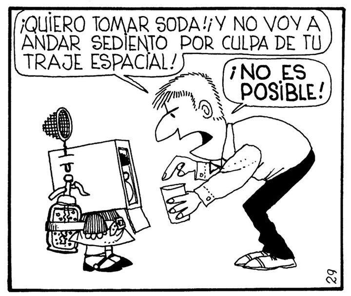 Traje Espacial Mafalda Mafalda Frases De Amistad Mafalda Quino
