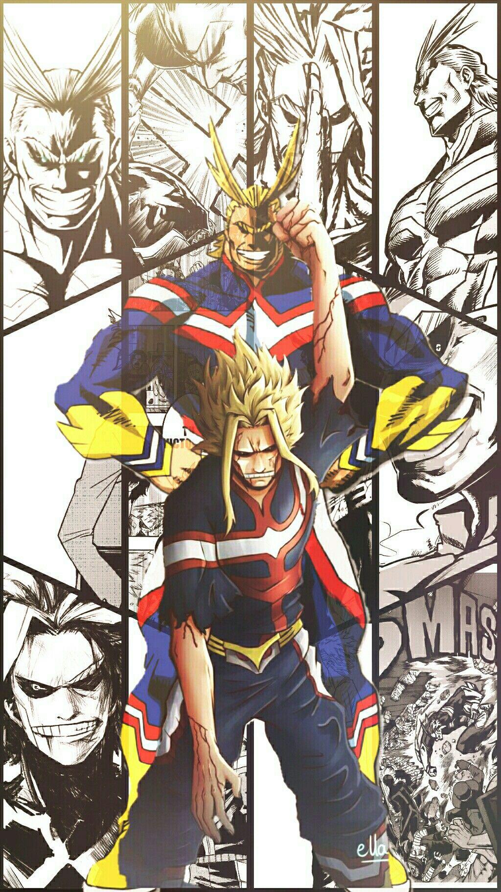Boku No Hero All Might Fondo De Pantalla V2 My Hero Academia Episodes Hero Wallpaper Hero