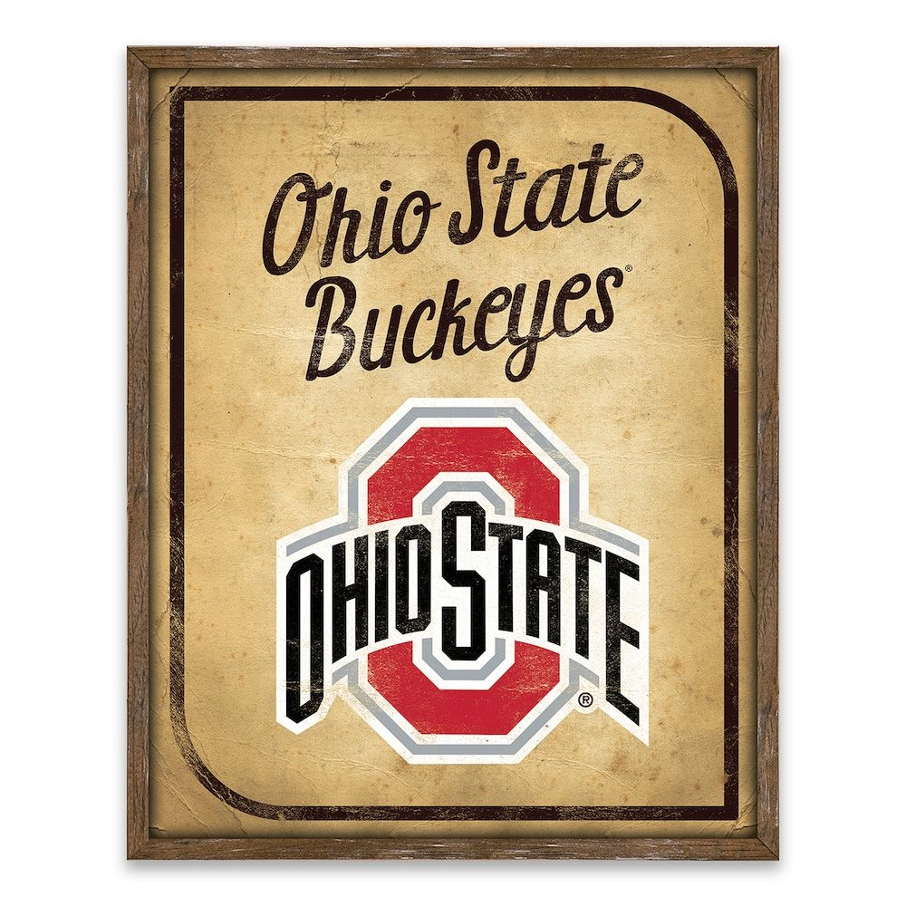 Unique Ohio State Wall Art Ensign - Wall Art Collections ...