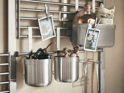 The Wall Storage System Kungsfors Saves Kitchen Drawer And Countertop E Add All Shelves Hooks Containers You Need