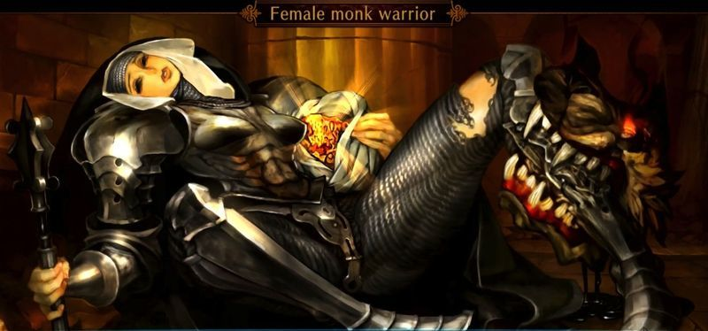 Photo of Dragons-Crown-27 The Female Warrior Monk