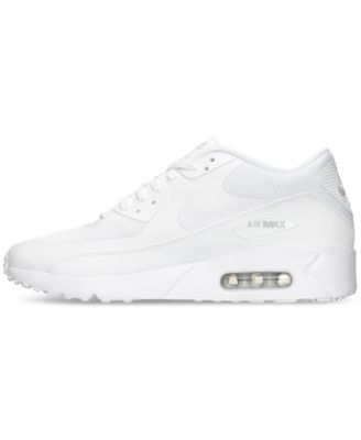 buy online 2b3ab 1e4bb Nike Men s Air Max 90 Ultra 2.0 Essential Running Sneakers from Finish Line  - White 11.5