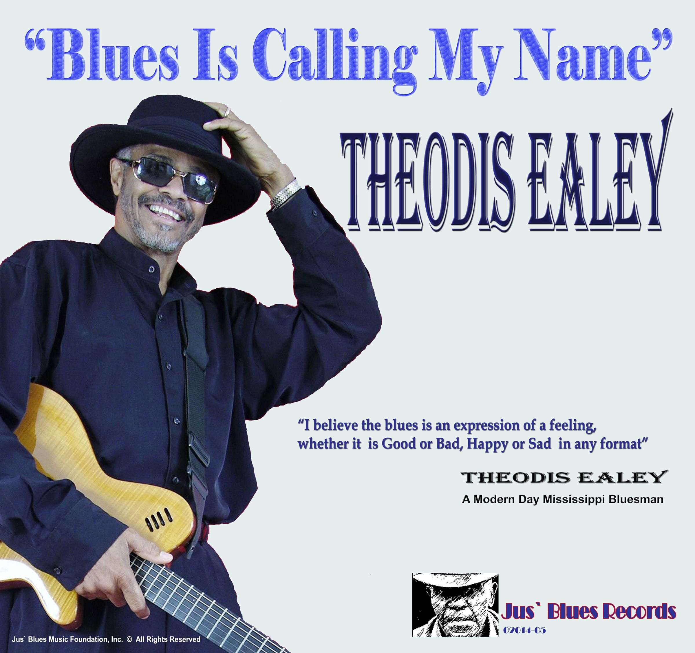Theodis Ealey jams on this single from the up and coming documentary: Modern Day Mississippi Bluesman...documentary by: Jus Blues Music Foundation...get your copy of this great song today! Itunes and amazon