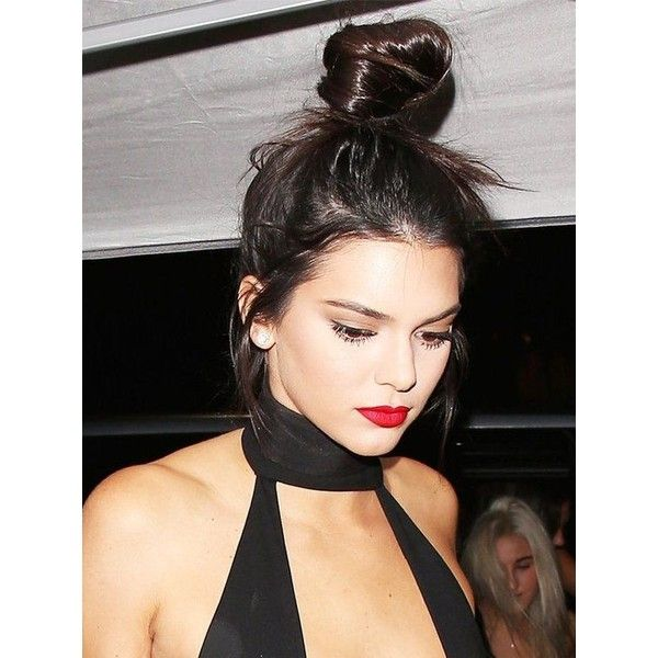 Buns Hairstyles Pingeena Louise On Kendall Jenner  Pinterest  Makeup Hair