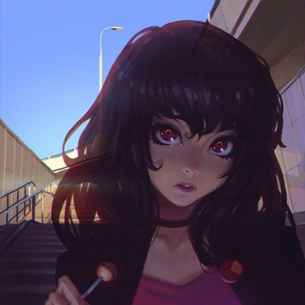 Ghost By Ilya Kuvshinov Via Behance Lyubov Anime Art
