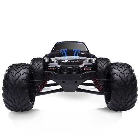 2WD Remote Control Car High Speed 33 MPH Off Road Truck Racing Scale 1:12 Blue