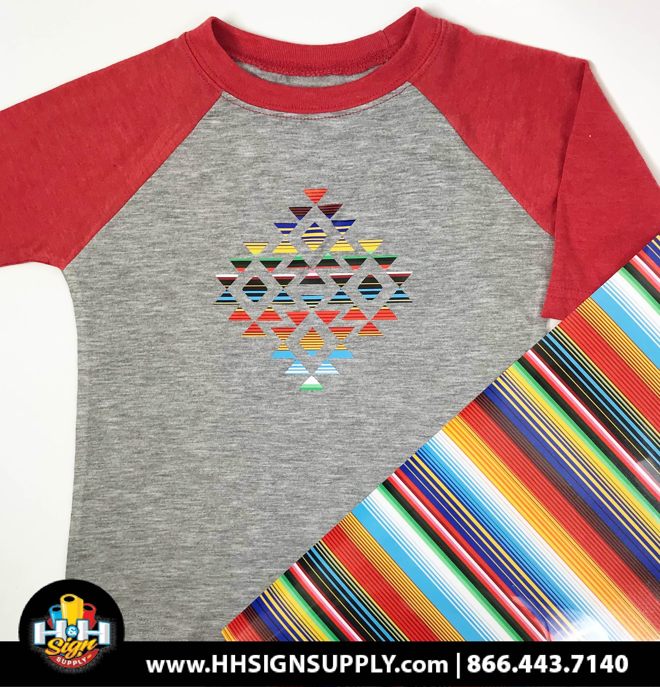 Pre Masked Serape Heat Transfer Vinyl By The Foot Heat Transfer