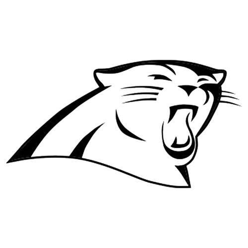 Carolina Panthers Superman White Vinyl Car Decal New Gift