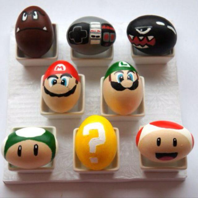 Mario Bros. Easter Eggs