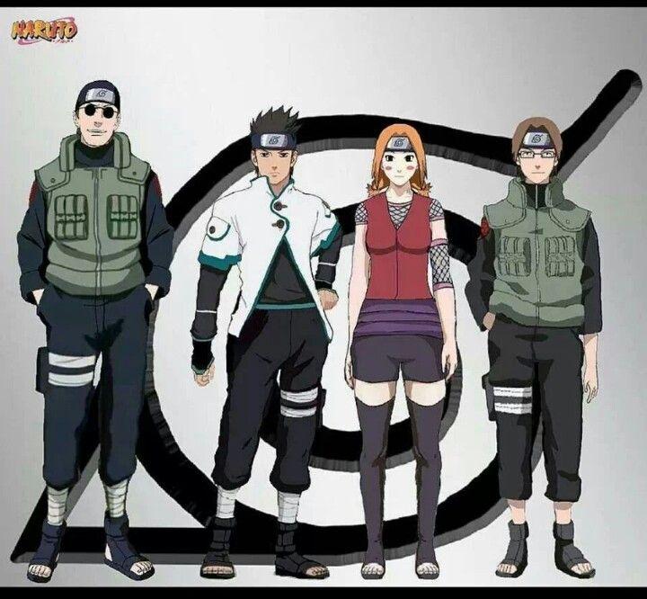 Woah.....Konohamaru, Moegi, And Udan All Grown Up. Wow