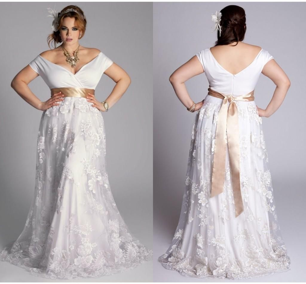 2015 New Arrival Plus Size Wedding Dresses For Pregnant Women Off ...