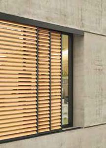Wood Solar Shading Facade With Images Window Architecture