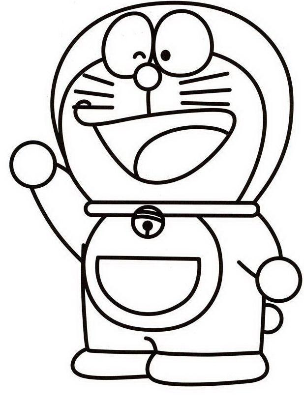 Doraemon Da Colorare Color Bage