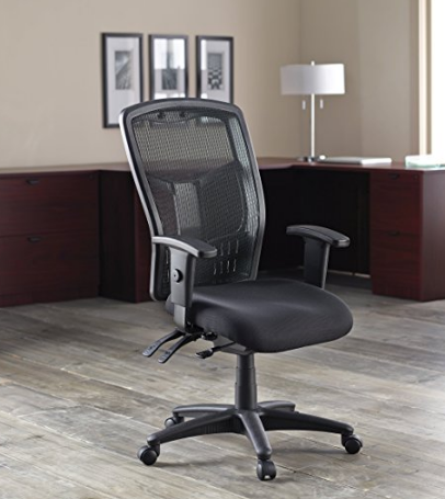 check out an in depth review of the lorell executive high back chair