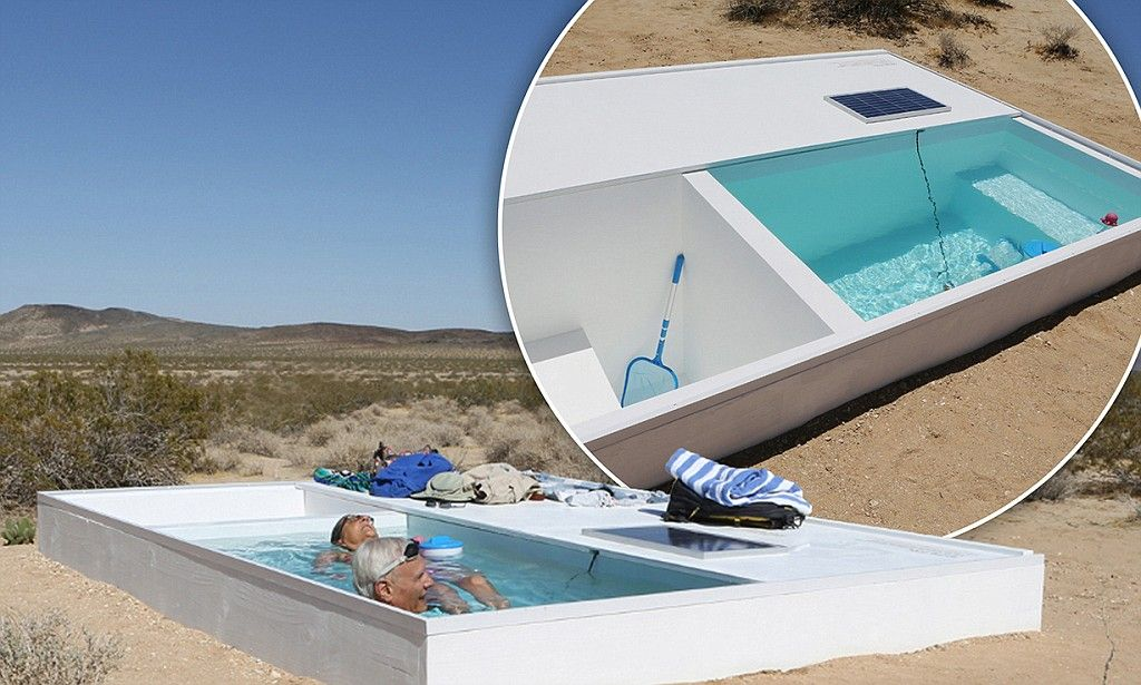 Secret Swimming Pool Hidden In The Mojave Desert The Secret The O 39 Jays And Pools
