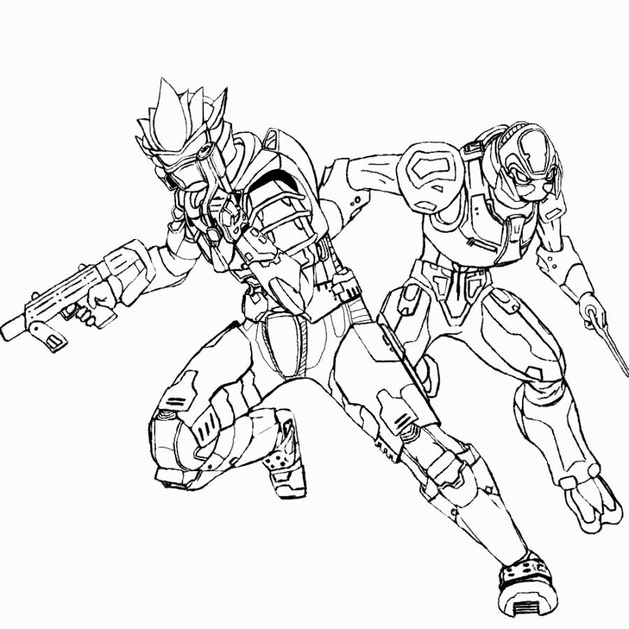 Halo 3 Coloring Pages | Coloring Pages | Pinterest