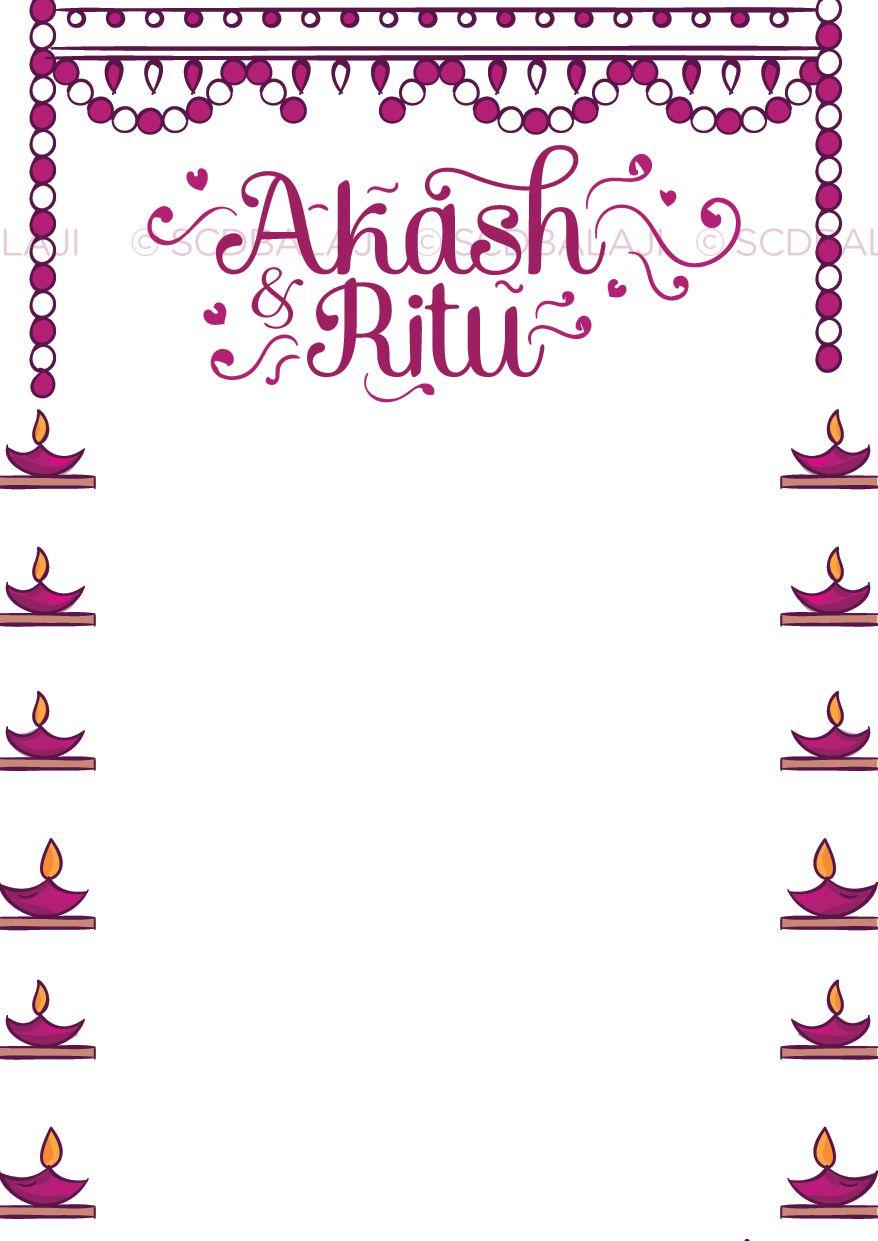 Print Ready Gujarati Wedding Invitation Envelope Cover Design by www ...