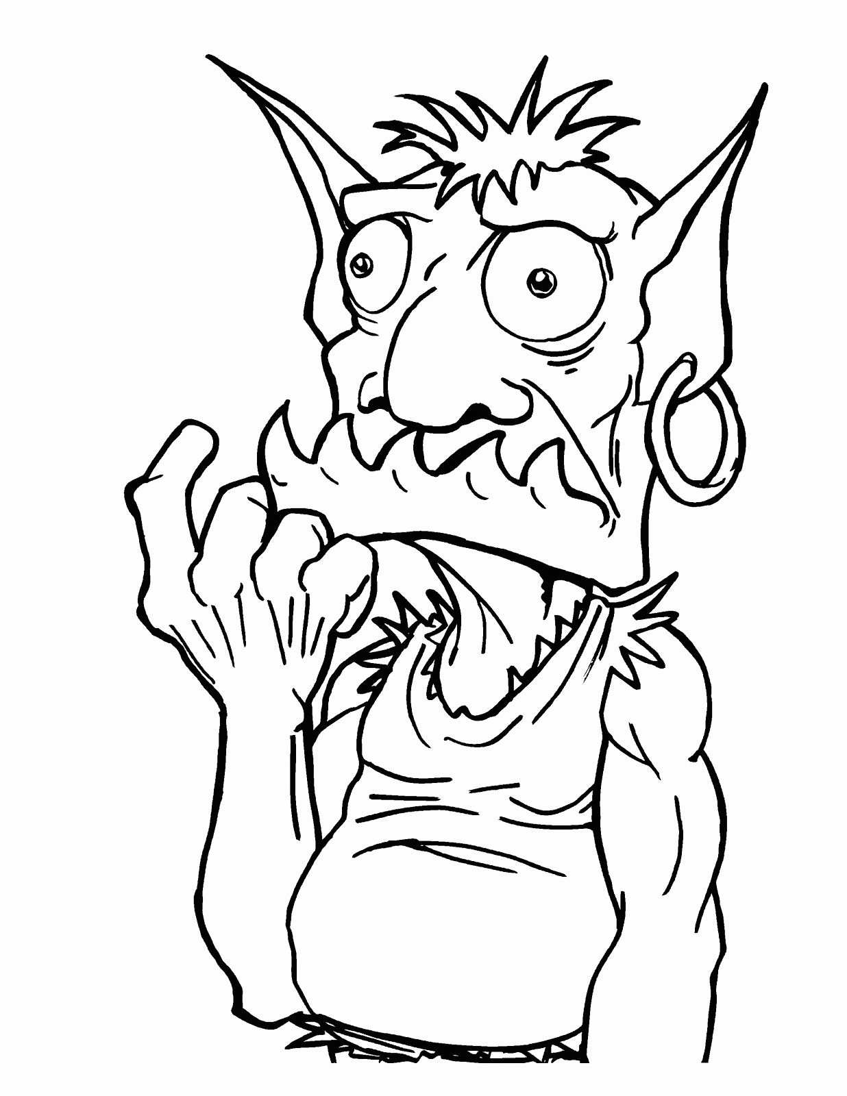 Goblin Coloring Pages Best Coloring Pages For Kids Coloring Pages Detailed Coloring Pages Coloring Pages For Kids