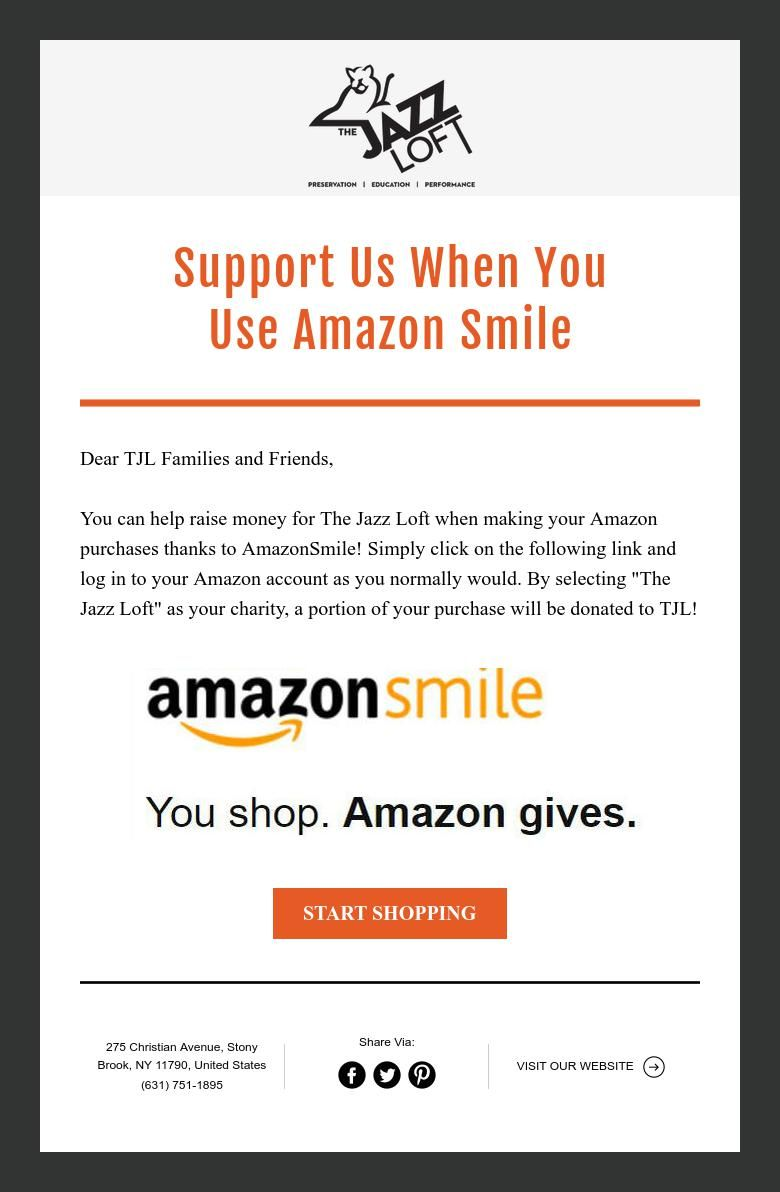 Support Us When You Use Amazon Smile Amazon Purchases How To