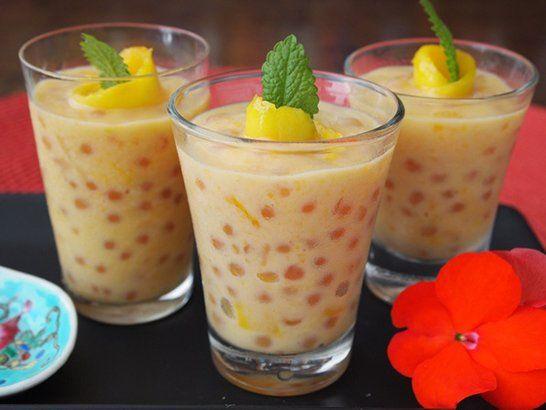 Tapioca con Crema de Mango - Que Rica Vida