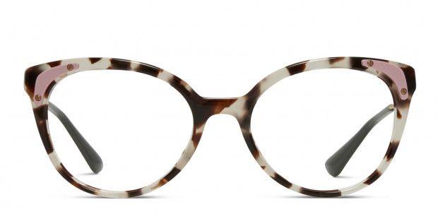 5317a14652e Prada PR 12UV Leopard Prescription Eyeglasses