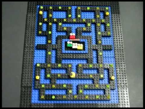 Stop motion arcade games recreated with LEGOs - another stop-motion ...