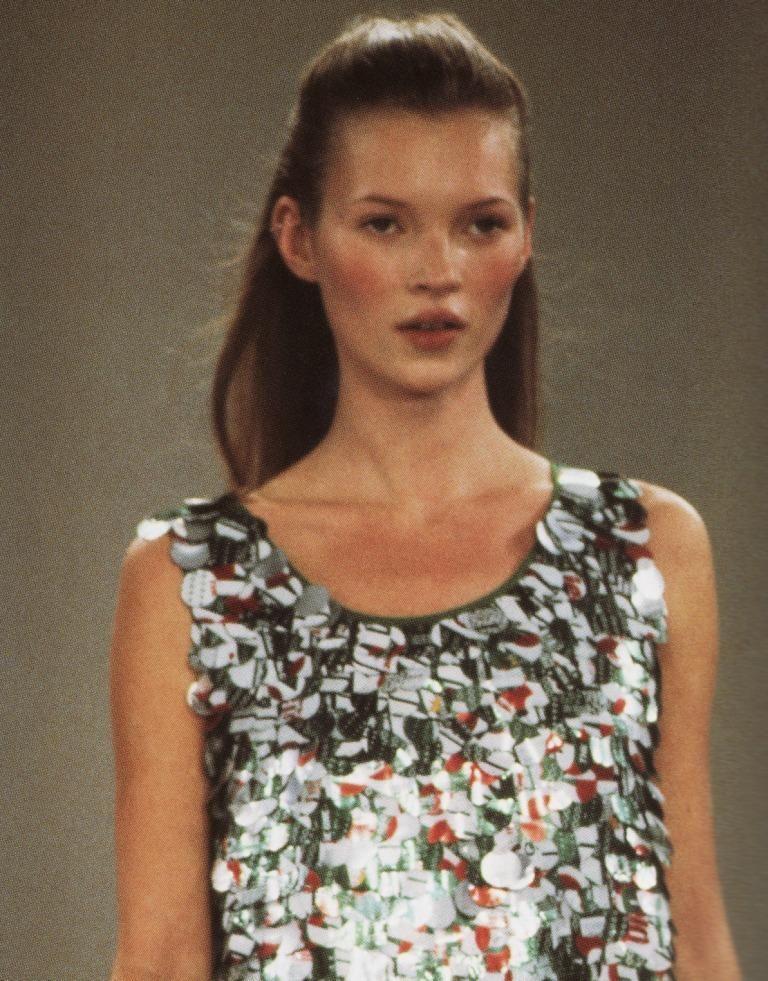 Kate Moss, Isaac Mizrahi spring 1994