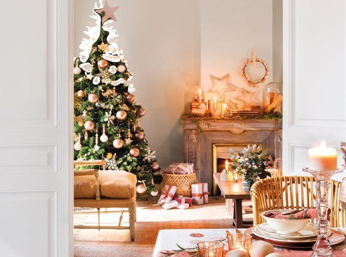 Shabby Chic Natale : Natale hygge christmas christmas decorations christmas