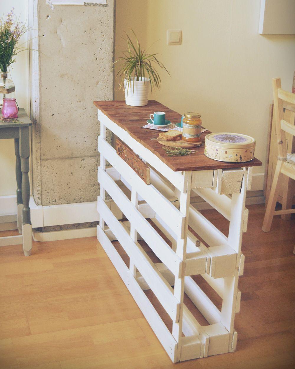 Palet Paletten Landhausstil Kücheninseln   Küche Metod Ikea Küchenfront  Kroktorp