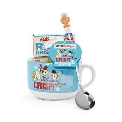 Kelloggs Vintage Rice Krispies bowl mug breakfast set- | Debenhams