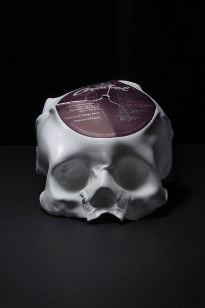 Vinyl Skulls by Ted Riederer | Art | Pinterest
