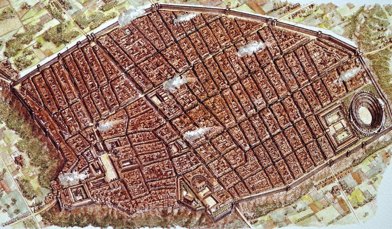 Ruinas De Pompeya Mapa.Pompeya Roma Antigua Historia De Roma Pompeya