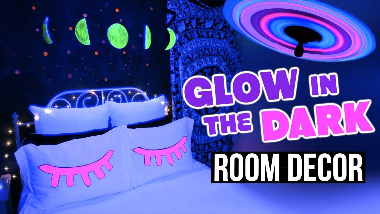 Diy Glow In The Dark Room Decor Tumblr Inspired Dark Room Decor Diy Glow Diy Room Decor