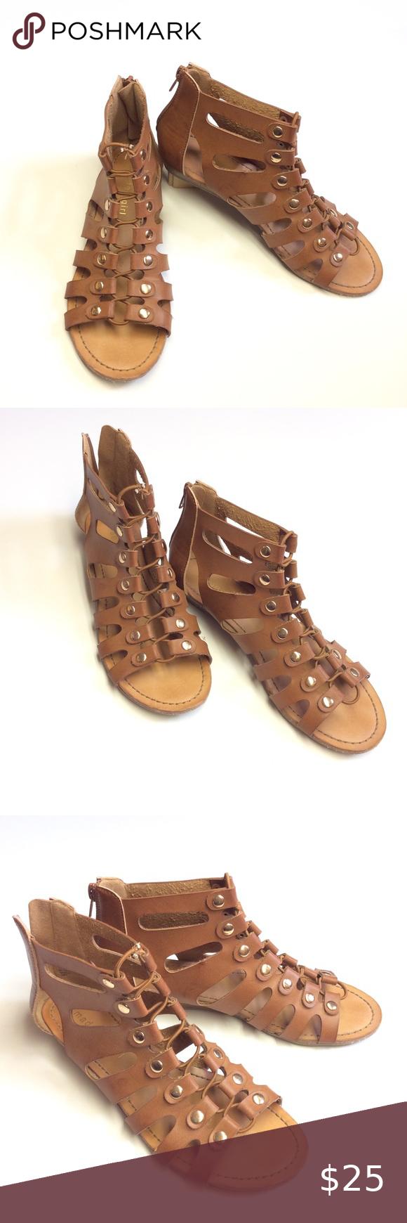Madden Girl Gladiator Sandals Tan Brown