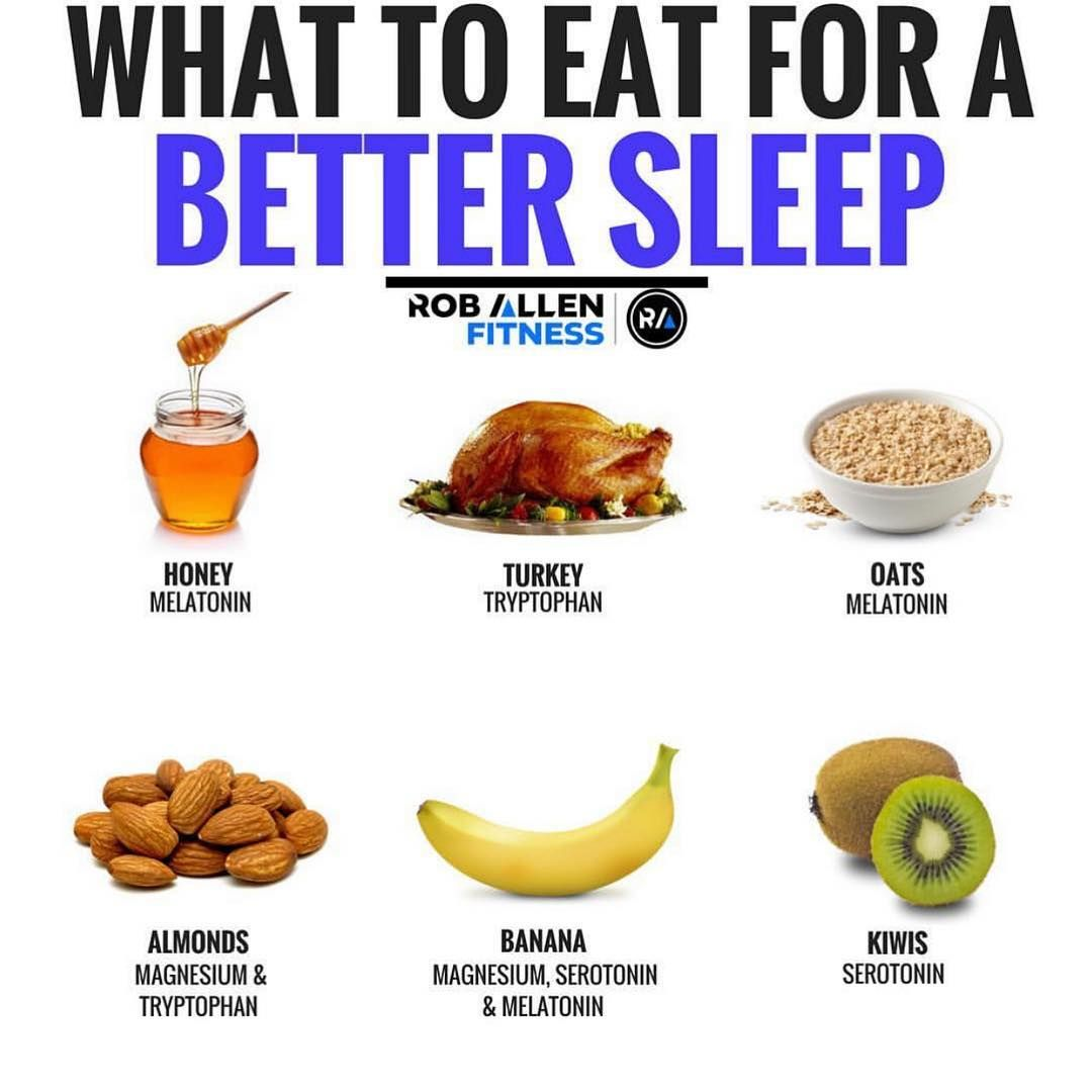 9 Fabulous Foods To Help You Sleep Better And Feel Revitalised Gymguider Com Food For Sleep Nutrition Health And Nutrition